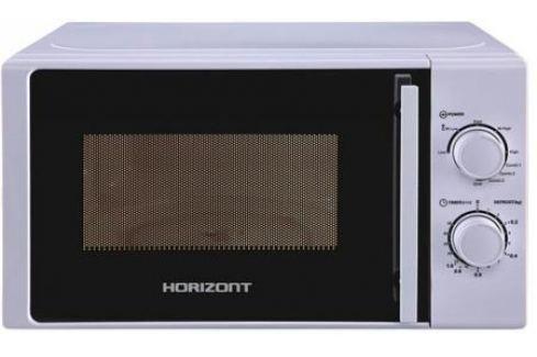 Микроволновая печь Horizont 20MW700-1478BIW 700 Вт серебристый Микроволновые печи