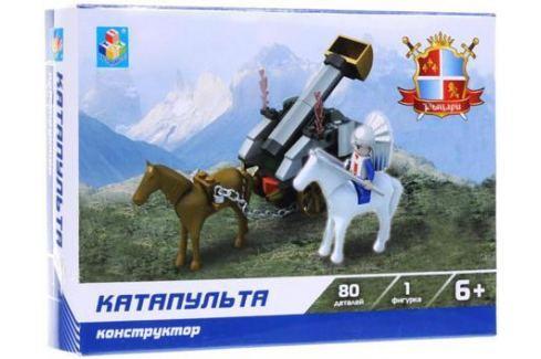 Конструктор 1 Toy Рыцари Катапульта 80 элементов Конструкторы, мозаики, пазлы