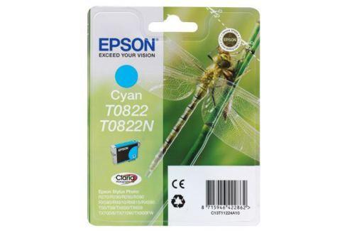 Картридж Epson Original T08224A для R270/390/RX590 голубой (C13T11224A10) Картриджи и расходные материалы