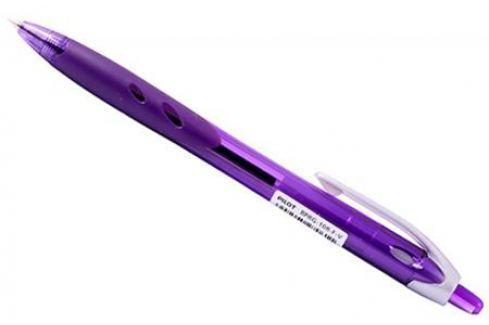 Шариковая ручка автоматическая Pilot REXGRIP фиолетовый 0.7 мм BPRG-10R-F-V Аксессуары