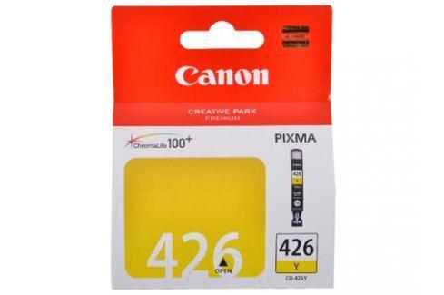 Картридж Canon CLI-426Y для iP4840, MG5140, MG5240, MG6140, MG8140. Жёлтый. 446 страниц. Картриджи и расходные материалы