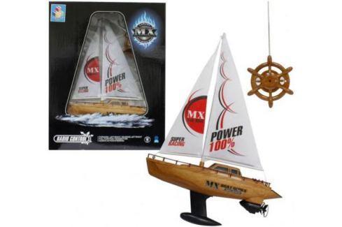 Лодка парусная на радиоуправлении Тилибом 39 см Т58537 Радиоуправляемые модели