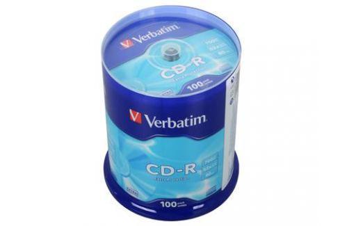 CD-R Verbatim 700Mb 52x 100шт Cake Box Диски, дискеты