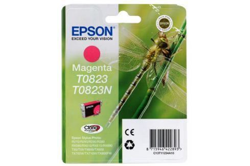 Картридж Epson Original T08234A для R270/390/RX590 пурпурный (C13T11234A10) Картриджи и расходные материалы