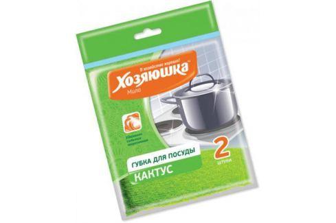 Губка для посуды Хозяюшка Мила Кактус 01008-100 Кухонные принадлежности