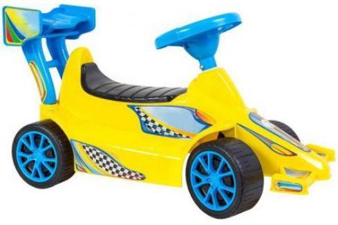 ОР894 Каталка Гоночный Спорткар Super Sport 1 цвет желтый 5310 Игрушки