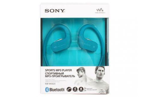Плеер Sony NW-WS623 Синий, водонепроницаемый спортивный mp3-плеер, 4Гб, до 12 часов работы, работа в солёной и мыльной воде, не боится песка и пыли mp3 - плееры