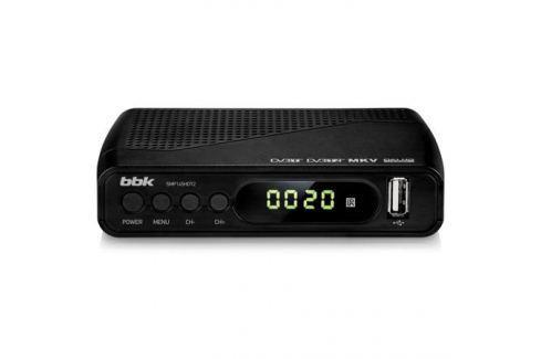 Цифровой телевизионный DVB-T2 ресивер BBK SMP145HDT2 Черный Цифровое телевидение DVB-T
