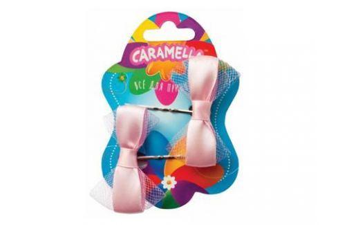 Набор украшений для волос Caramella Невидимки с бантиками 2 шт розовый 26579 Игрушки