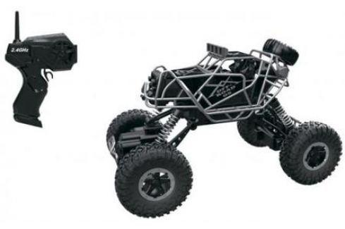 1toy Драйв, раллийная машина бигвил на р/у, 2,4GHz, 4WD, масштаб 1:43, скорость до 14км/ч, курковый 8887856109482 Радиоуправляемые модели