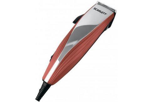 Машинка для стрижки волос Scarlett SC-HC63C20 коричневый серебристый Машинки для стрижки