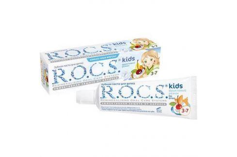 РОКС Зубная паста для детей Фруктовый рожок без фтора 45 гр Уход за полостью рта