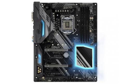 Мат. плата ASRock Z370 EXTREME4 (S1151, Z370, 4*DDR4, 3*PCI-E x16, 3*PCI-E x1, D-Sub, DVI, HDMI, SATA III+RAID, M.2, GB Lan, USB 3.1, ATX, Retail) Материнские платы