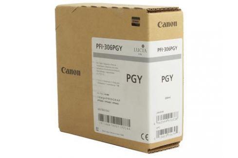 Картридж Canon PFI-306 PGY для плоттера iPF8400/9400. Фото серый. 330 мл. Картриджи и расходные материалы