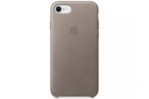 Накладка Apple Leather Case для iPhone 8 iPhone 7 платиново-серый MQH62ZM/A Сумки