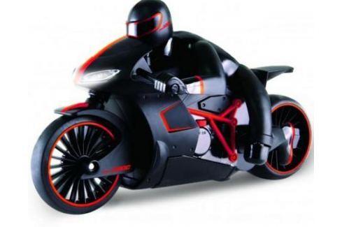 1toy Драйв, мотоцикл с гонщиком на р/у, 2,4GHz, езда с наклоном, свет фар, с АКБ 700mAh Ni-CD, красн Радиоуправляемые модели