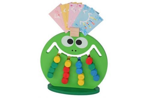 Логическая игрушка Краснокамская игрушка ЛИ-01 Лягушка Игрушки