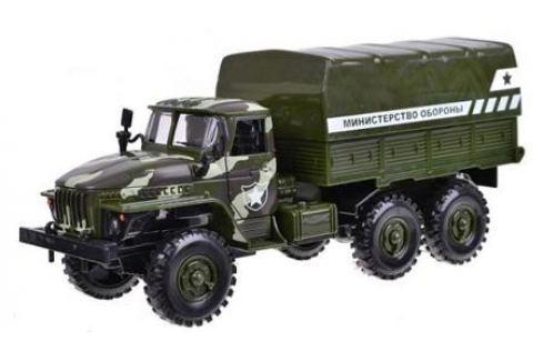 Инерционная машинка Play Smart Автопарк со светом и звуком. Министерство обороны, 27х14х10см Игрушки