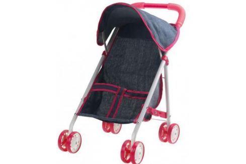 1toy коляска прогулочная с капюшоном для куклы