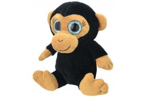 Мягкая игрушка Wild Planet Обезьянка 15 см черный искусственный мех K7862 Игрушки