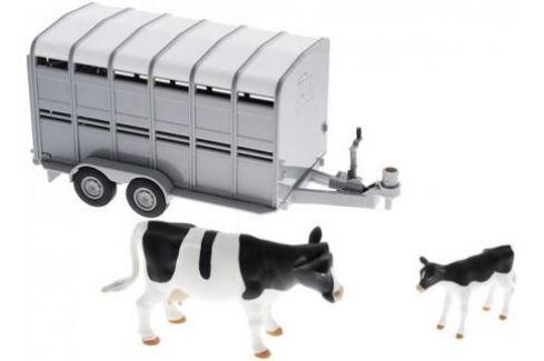 Игровой набор Tomy Трейлер для перевозки животных с коровой и теленком 3 предмета 42709 Игрушки