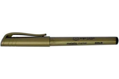 Маркер перманентный, металлик, круглый наконечник, 2,0 мм, золотой Аксессуары