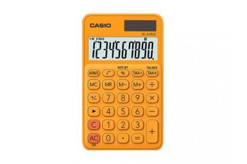 Калькулятор карманный CASIO SL-310UC-RG-S-EC 10-разрядный оранжевый Калькуляторы