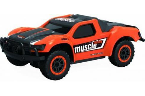 1toy Драйв, раллийная машина на р/у, 2,4GHz, 4WD, масштаб 1:43, скорость до 14км/ч, курковый пульт, 8887856109390 Радиоуправляемые модели