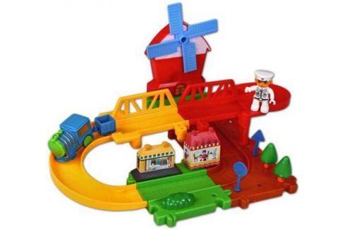 Железная дорога Голубая стрела Веселые горки, конструктор-пазл 87181 Игрушки