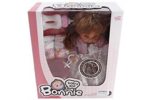 Кукла Shantou Gepai Bonnie 30 см со звуком писающая пьющая LD9908B Игрушки