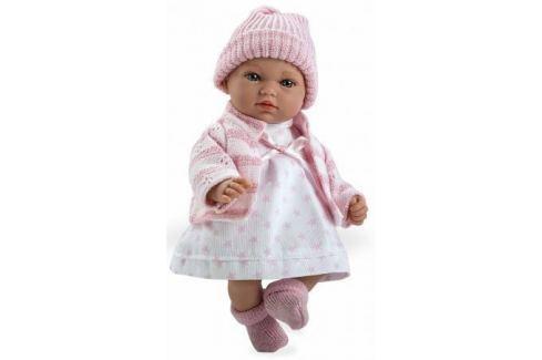 Arias ELEGANCE мягк кукла 28 см., со звук. эфф. Гуление (3хLR44/AG13), в одежде, роз цвет., в кор. 2 Игрушки
