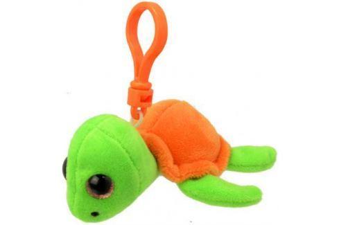 Мягкая игрушка черепаха Wild Planet Черепашка K8319 9 см оранжевый салатовый искусственный мех пласт Игрушки