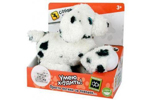 Мягкая игрушка собака Toy Target Собачка-Шагачка Далматин 60004 белый черный искусственный мех полиэ Игрушки
