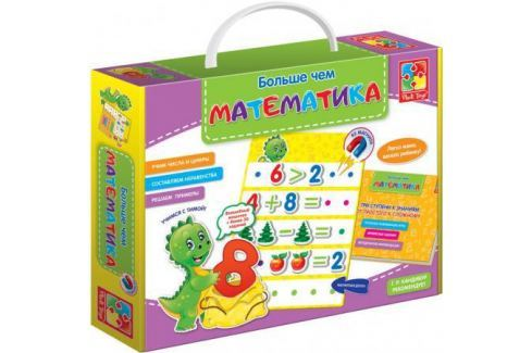 Настольная игра развивающая Vladi toys Больше чем Математика ( по методике Г.Р. Кандибура ) VT2801-0 Игрушки