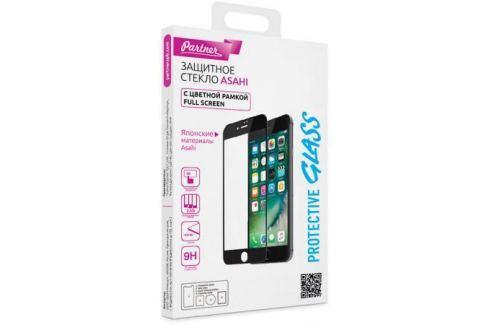 Защитное стекло Partner Full-Screen, черная рамка для iPhone 7 iPhone 8 0.33 мм ПР037940 Аксессуары