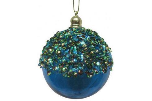 Набор шаров Новогодняя сказка 972919 8 см 3 шт голубой пластик Аксессуары