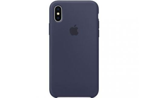 Накладка Apple Silicone Case для iPhone X темно-синий MQT32ZM/A Сумки