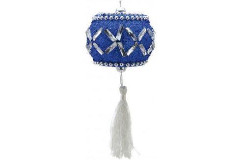 Елочные украшения Winter Wings Барабан 10 см 1 шт синий Аксессуары