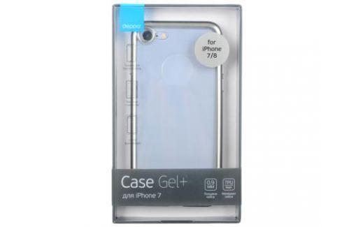 Чехол Deppa Gel Plus Case матовый для Apple iPhone 7 / iPhone 8, серебристый, 85282 Сумки