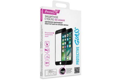Защитное стекло 3D Partner белое (9H) для iPhone 8 Plus iPhone 7 Plus 0.33 мм ПР037716 Аксессуары