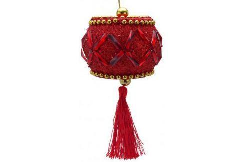 Елочные украшения Winter Wings Барабан 10 см 1 шт красный Аксессуары