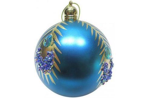 Набор шаров Новогодняя сказка 972917 8 см 3 шт голубой пластик Аксессуары