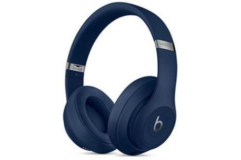 Наушники Apple Beats Studio3 Wireless А1914 синий MQCY2ZE/A Беспроводные / Накладные / Синий / Одностороннее / Mini-jack / 3.5 мм / Bluetooth Микрофоны и наушники