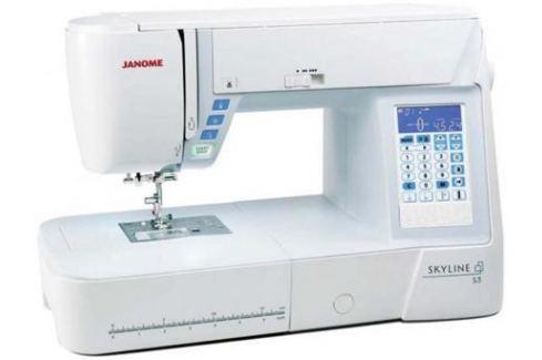 Швейная машинка Janome Skyline S3 белый Швейные машины