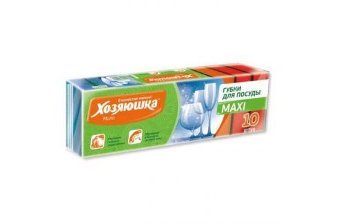 ХОЗЯЮШКА Мила Губка для посуды MAXI 10шт Кухонные принадлежности