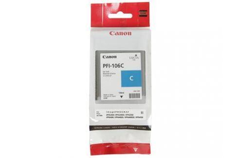 Картридж Canon PFI-106 C для плоттера iPF6400/6400S/6400SE/6450. Голубой. 130 мл. Картриджи и расходные материалы
