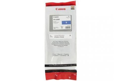 Картридж Canon PFI-206 B для плоттера iPF6400/6450. Светло-голубой. 300 мл. Картриджи и расходные материалы