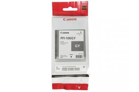 Картридж Canon PFI-106 GY для плоттера iPF6400/6400S/6450. Серый. 130 мл. Картриджи и расходные материалы