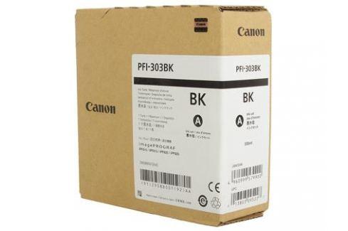Картридж Canon PFI-303 BK для плоттера iPF815/825. Чёрный. 330 мл. Картриджи и расходные материалы