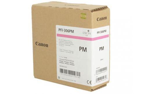 Картридж Canon PFI-306 PM для плоттера iPF8400S/8400/9400S/9400. Фото пурпурный. 330 мл. Картриджи и расходные материалы
